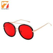 Amarillo Claro de la manera gafas de Sol Mujeres Hombres Diseñador de la Marca de La Vendimia Gafas de Sol Para Mujer Espejo Shades Gafas Lunette de Soleil