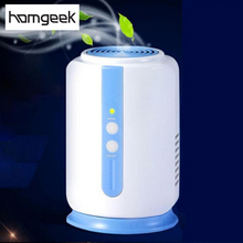 Home Health Ozone Generator Fridge Food Fruit Vegetables Shoe Wardrobe Car O3 Ionizer Disinfect Sterilizer Fresh Air Purifier