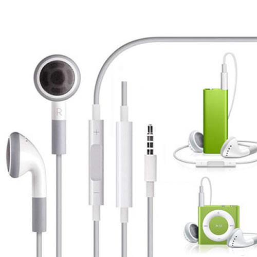 Hot sale 3.5mm Stereo Earphone Headphone Hifi Earpod Earbuds Bass Sport Headset with mic for for iPhone 4/4s/5/5s/6/6s
