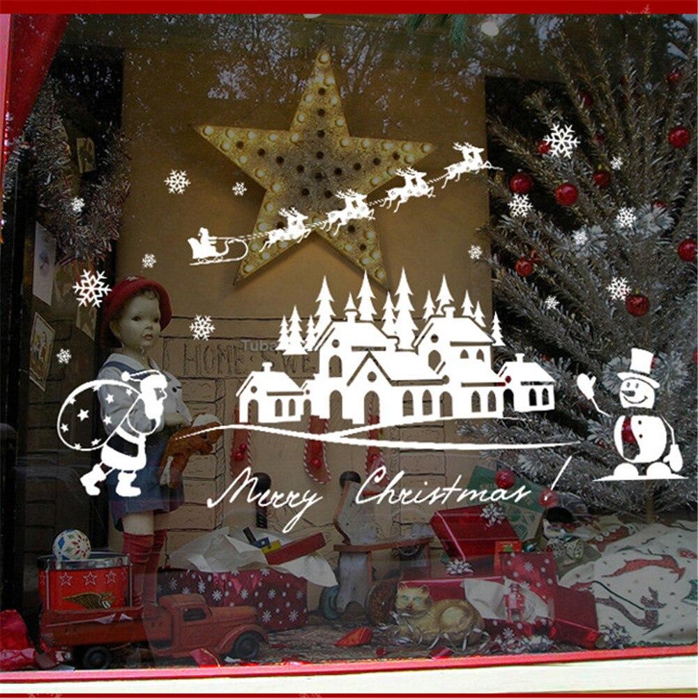 Christmas Decorative Window Stickers 4