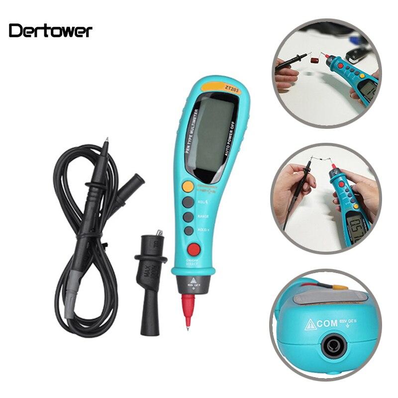 B01 stylo Type LCD multimètre numérique Auto-portée véritable RMS NCV 6000 compte AC/DC tension compteur électronique voiture multimètre testeur