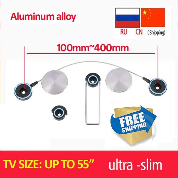 free shipping D-mount aluminum alloy ultra Slim LED Bracket 15