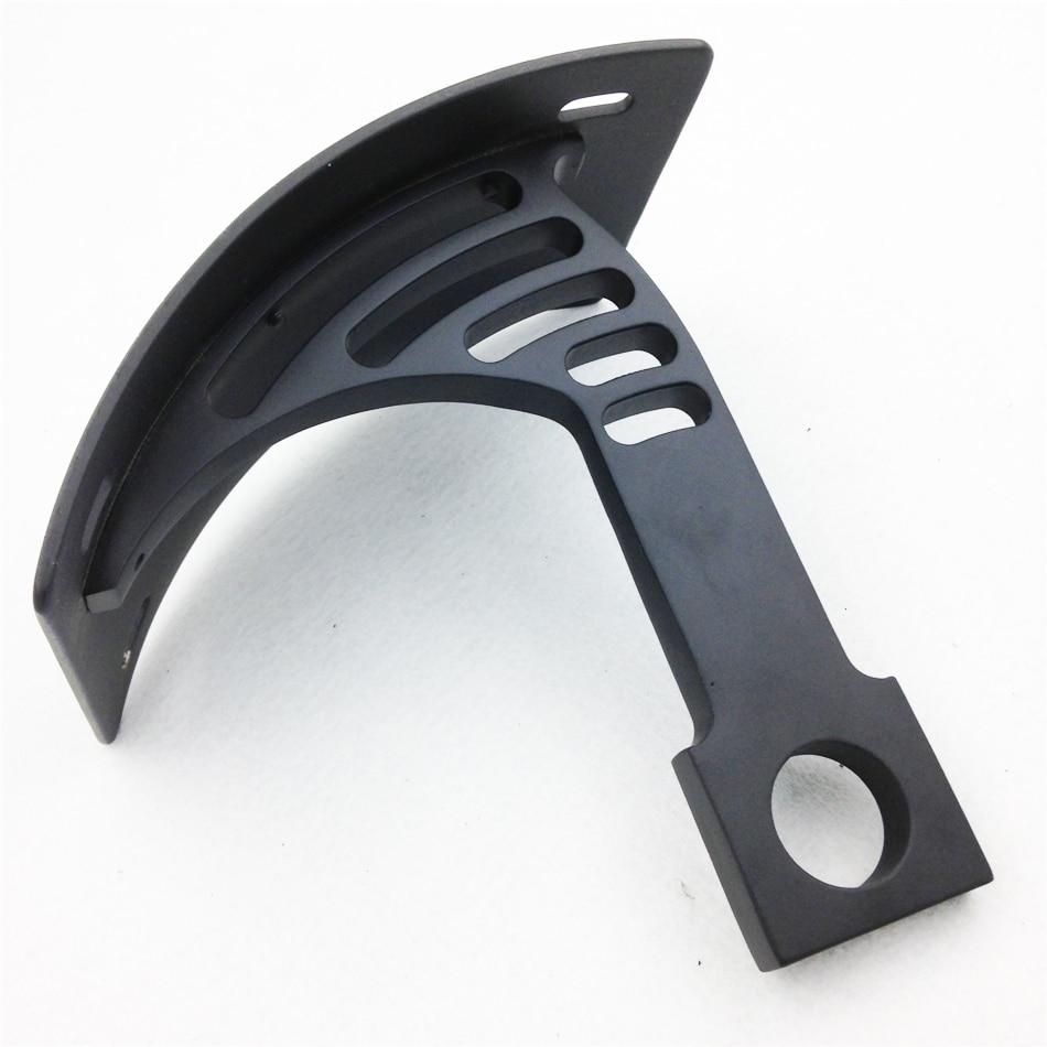 Black Swingarm Side Mount Curve License Plate for Kawasaki ZX6R ZX7R ZX9R ZX14R