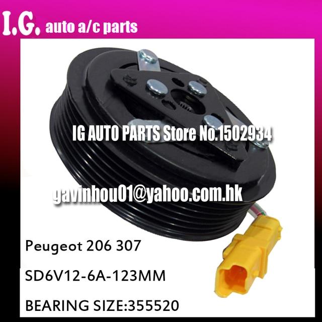 aliexpress : buy 12v for sd6v12 compressor for car peugeot 206