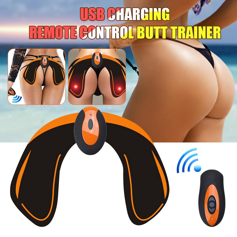 KIFIT USB Rechargeable Intelligent Trainer Buttocks Lifting Body Beauty Machine Electric Muscle Trainer