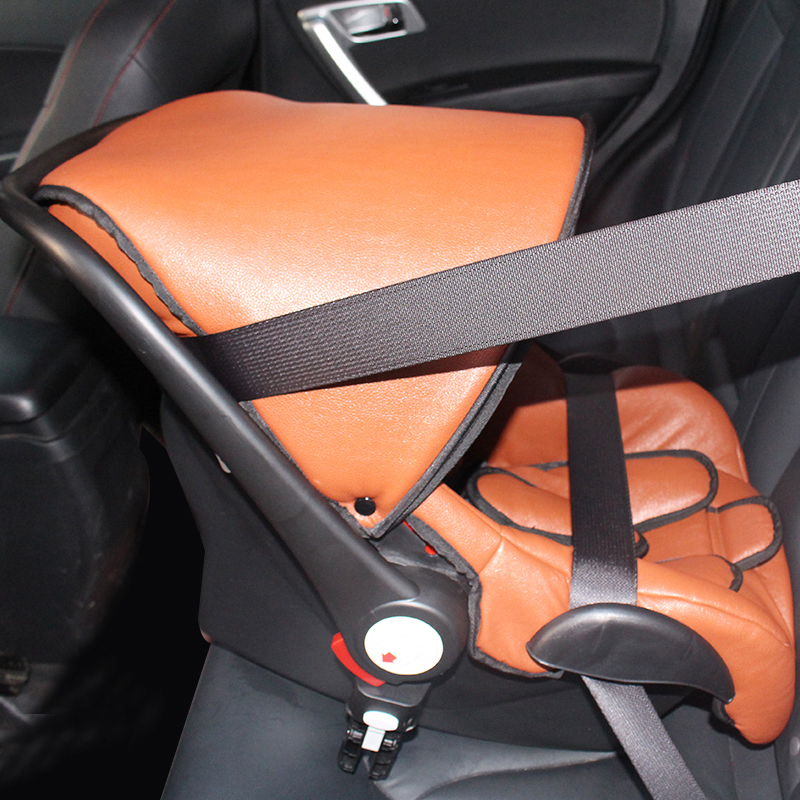 Car Seat For Newborn Baby 3 Point Safety Harness Car Basket For 0 to 13Month Cradle For Infant Matched With Aulon Stroller