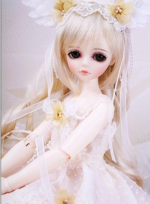 1/4 escala 43 cm BJD muñeca desnuda de BRICOLAJE maquillaje, vestir SD muñeca. l