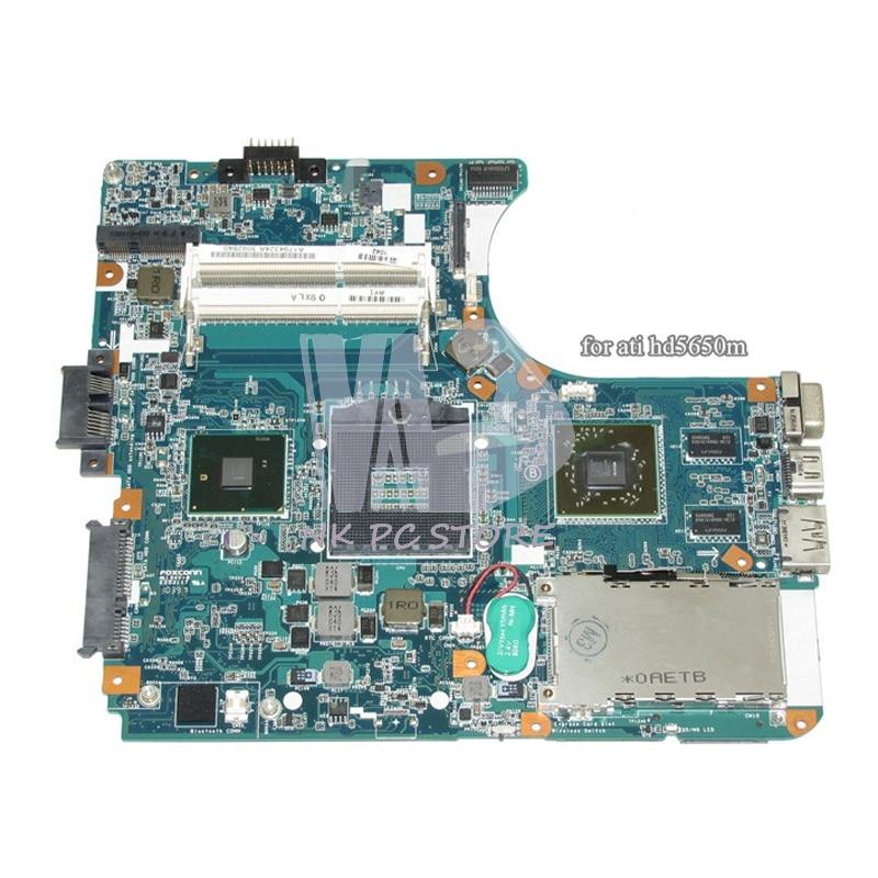 A1794324A Notebook PC Motherboard For Sony Vaio VPC-EB Main Board MBX-224 M961 HM55 DDR3 ATI Discrete Graphics