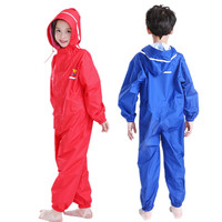 High Quality Nylon Thin Pants Raincoat Kids Waterproof Rainsuit Outdoor Rainwear For Children Adults Capa De