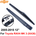 QEEPEI Задний Стеклоочиститель и Рычаг Для Toyota RAV4 MK 3 (XA30) 2005-2015 12 ''5 дверный универсал Высокого Качества Iso9000 Натурального Каучука