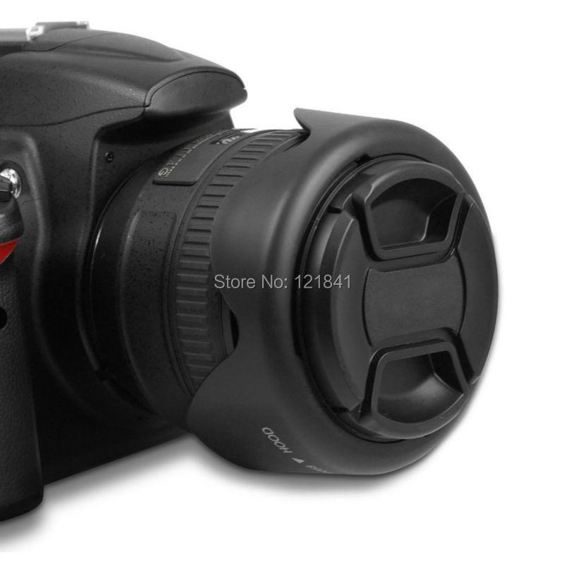 Yüksek Kalite 58 MM Canon kamera için Geri Dönüşümlü Petal - Kamera ve Fotoğraf - Fotoğraf 4