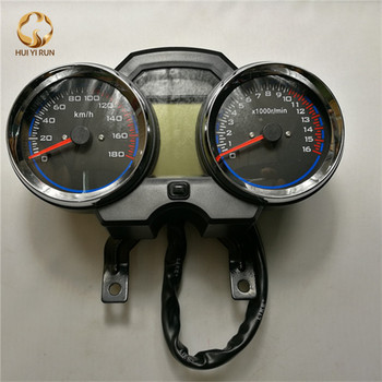 Universal Readable Speedometer Gauge Panel Motorcycle Odometer Instrument LED KMH Racer ATV Мотоцикл