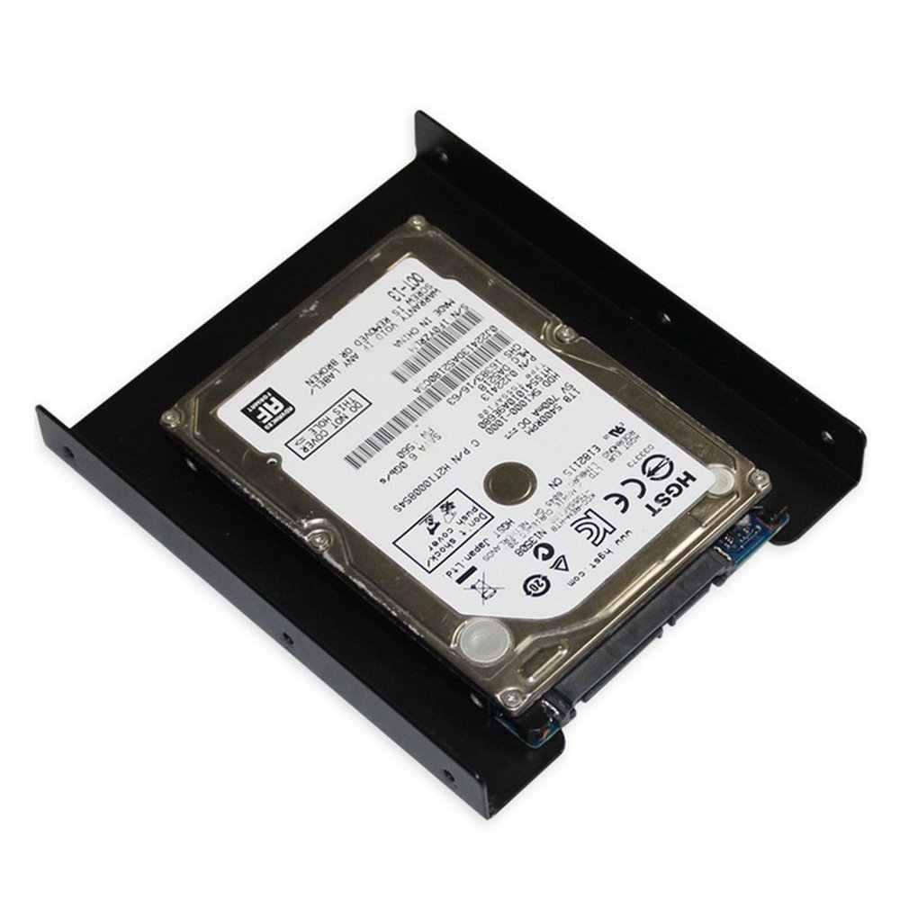 HolderSSD صينية 2.5 بوصة إلى 3.5 بوصة SSD HDD محول قوس القرص الصلب حامل ل حاسوب شخصي مكتبي