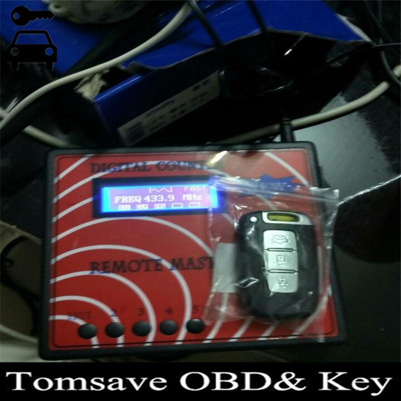 Prix pour Nouveau Compteur Numérique À Distance Maître Programmeur principal, RF/RFID Fréquence Mètre Fixe Rolling Code À Distance Copieur Pour Serrurier boutique