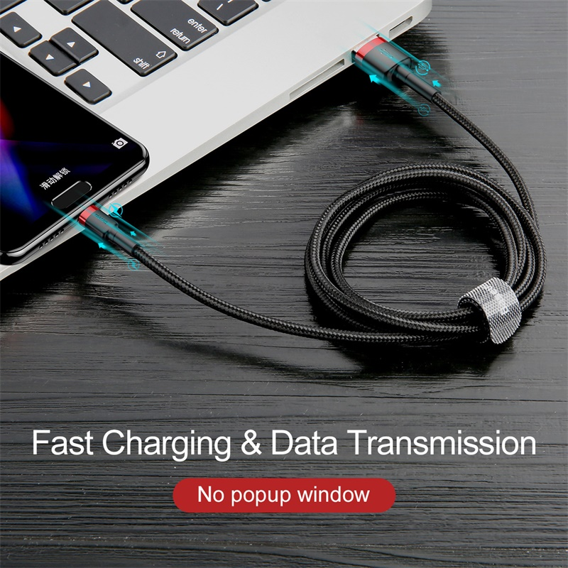 USB Type C Cable for Samsung S10 S9 Quick Charge 3.0 Cable USB C Fast Charging for Huawei P30 Xiaomi USB-C Charger Wire 4