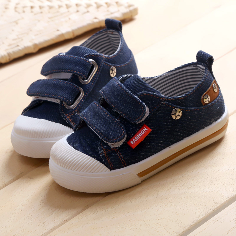 Kinder canvas schoenen 2018 lente kinder canvas casual Non-slip - Kinderschoenen - Foto 1