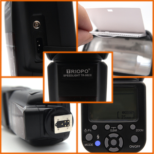 Image 4 - Triopo TR 982III TR 982 III Flash Speedlite HSS Multi LCD Wireless Master Slave Mode Flash Light For CANON NIKON DSLR Camera