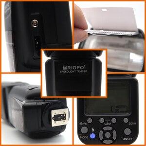 Image 4 - Tripo TR 982III TR 982 III 플래시 스피드 라이트 HSS 멀티 LCD 무선 마스터 슬레이브 모드 플래시 라이트 CANON NIKON DSLR 카메라 용