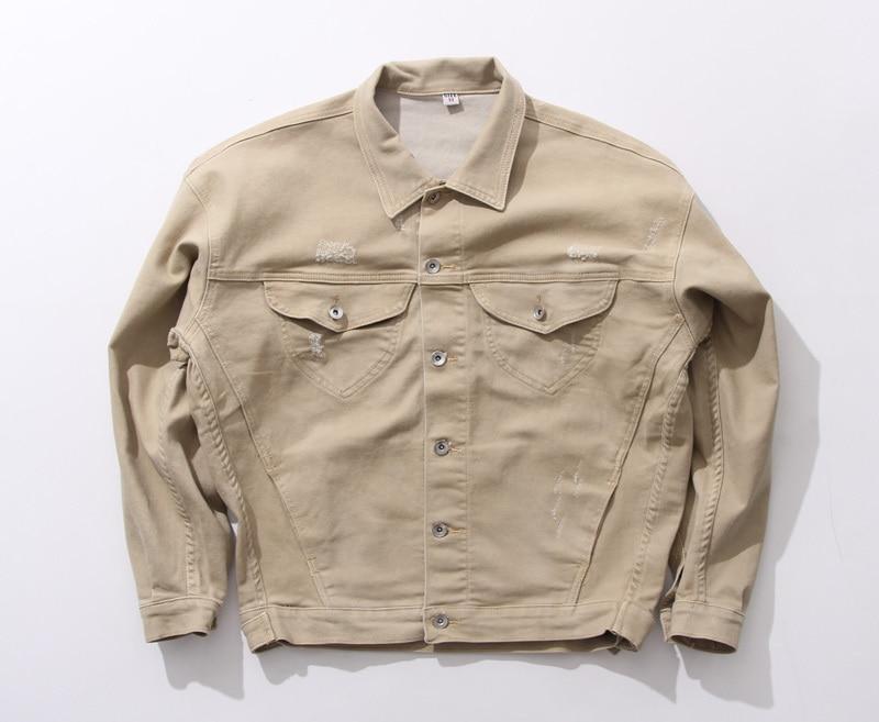 High Quality Khaki Denim Jacket-Buy Cheap Khaki Denim Jacket lots ...
