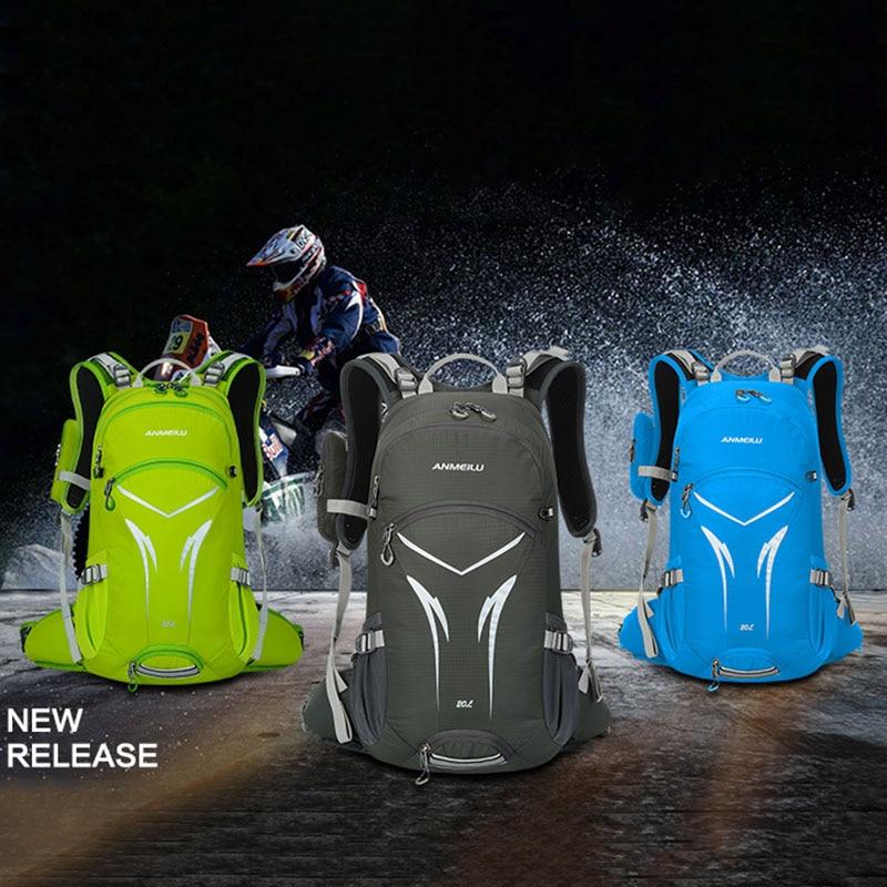Outdoor Bags New style Waterproof 20L Backpack Hiking Camping Travel Bag Multifunction Rucksack Nylon Shoulder lightweight Bag