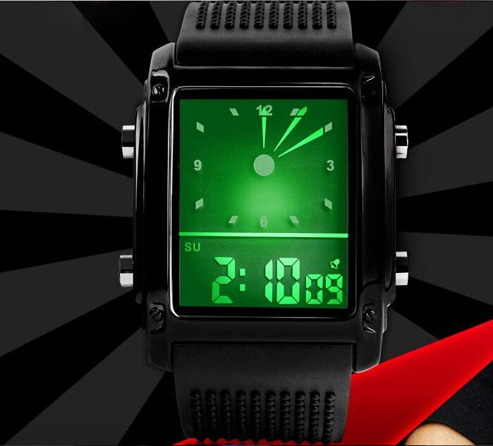 montre enfant 2016 New Luxury Brand Men Military Sports Watches Digital LED Quartz Wristwatches Casual Watch