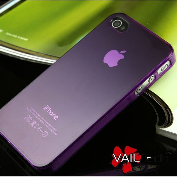 50pcs/lot Freeshipping 3.5mm Flexible Ultra thin Clear Crystal Case Cover for iPhone 4 4S,6 colors available