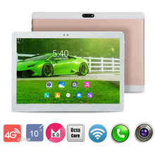 2017 New 10 inch 4G LTE Tablets Octa Core Android 6.0 RAM 4GB ROM 64GB Dual SIM Cards 1920*1200 IPS HD 10.1 inch Tablet PCs+Gifs(China (Mainland))