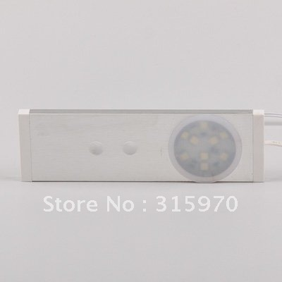 Aluminum Led Light  With Door Sensor 12VDC 9leds of  5050smd Slim Size  For Led Drawer Light Convenient to Use Safe Working Volt 10 50 meters pack 1m per piece led aluminum profile slim 1m with milky diffuse or clear cover for led strips