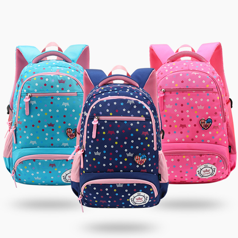 SUN EIGHT Big Capacity New Daisy Printing Girl School Bag Kid Backpack  Zipper Backpacks School Bags. sku  32829843061 3ec3ea39ac