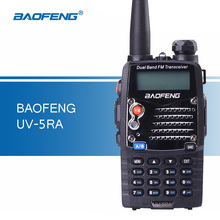 Baofeng UV-5RA Walkie Talkies VHF UHF Dual Band 5RA Portable Walkie Talkies Handheld Two Way Radio Communicator HF Transceiver