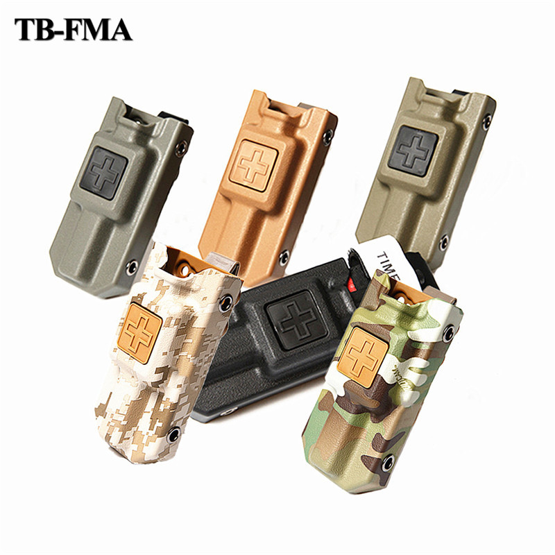 TB-FMA Tactical Tourniquet Carrier Pouch Multicam Black Fit Airsoft Tactical One Hand Tourniquet Load For Molle Free Shipping