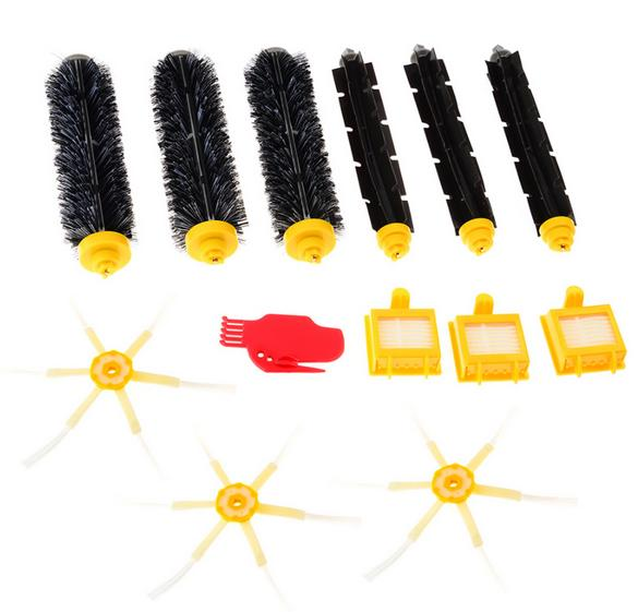 Accessory Kit( Hepa Filter + brush ) for iRobot Roomba 700 Series 760 770 780 790 vacuum cleaner accessories