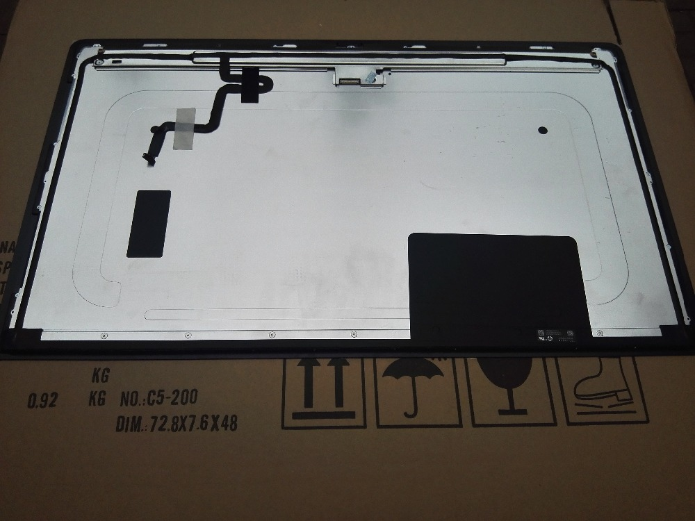 A1419 2K LM270WQ1 (SD) (F1) écran LCD avec assemblage en verre LM270WQ1 SD F2 F1 pour iMac 27 fin 2012 2013 - 2