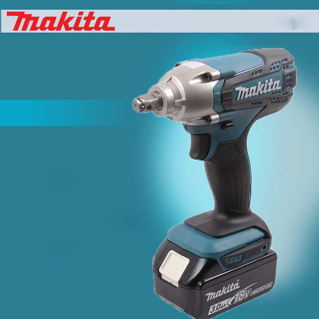 An Makita Electric Wrench Dtw190sfx1 Rechargeable Lithium Battery Impact Double Bolt Sleeve 18v 3000