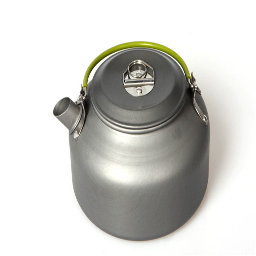 FishSunDay Outdoor Coffee Teapot Camping Hiking Picnic BBQ Kettle Water Pot Aluminum Convenient To Use Drop Shipping  August11