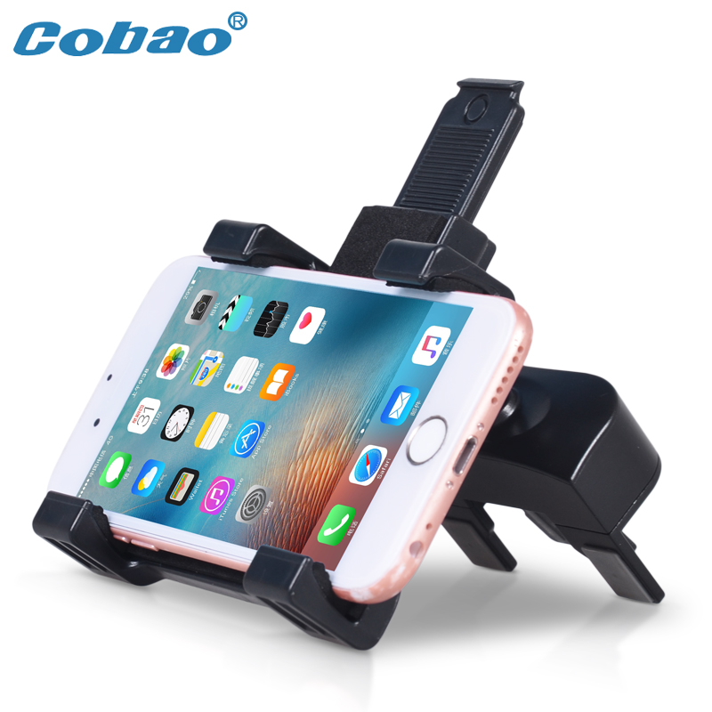 Cobao Universal CD Slot Phone Mount 360 Degree Air Vent Phone Holder for Car for Samsung Xiaomi iPad mini Tablet Stand Mount