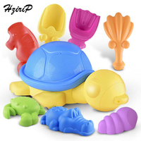 HziriP Big New Kids Sand Playing Tool Beach Toys Sets Summer Cartoon Animal Turtle Plastic Outdoor Beach Shovel Tools Gifts