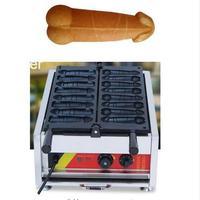 Free Shipping 110v or 220v good quality 8 pcs Commercial Use Hot dog Sausage Penis shape Waffle Maker Iron Machine Baker