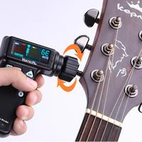 Portable Smart Practical Pickup Efficient Tuner USB Charging Time Saving Automatic Guitar Use Winder Accuracy Easy Control