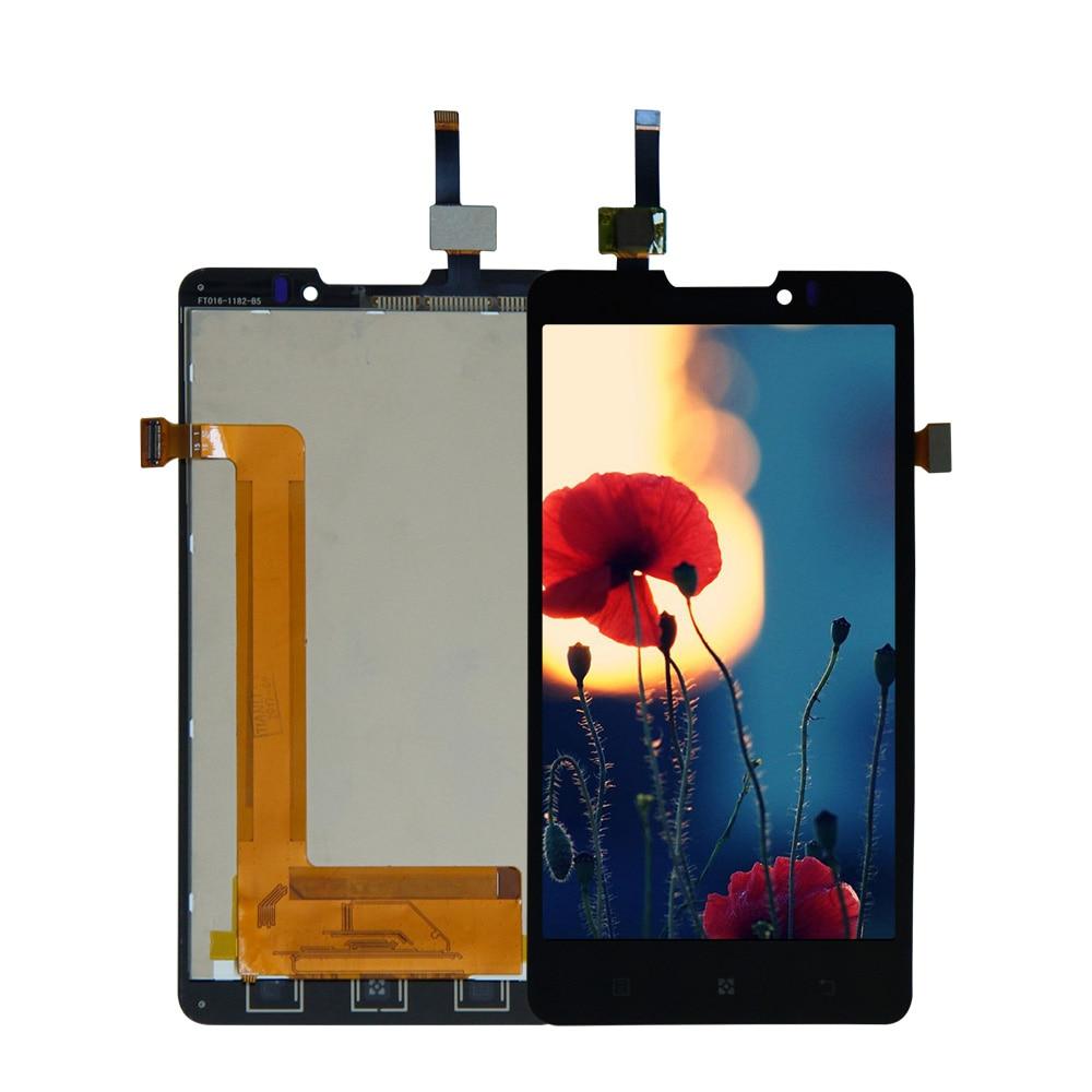 Pour Lenovo P780 LCD Panneau D'affichage avec Écran Tactile Digitizer Panneau Module Assemblée Complet