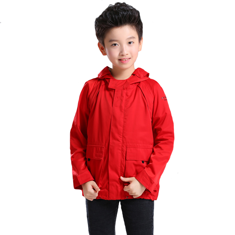 Fashion 2018 Autumn Boys Jackets Kids Coat Hooded Collar Outerwear for Children Clothing High Quality 6y-12y 2016 high quality casual coat for boys mandarin collar polyester juegos infantiles for children nttz 206