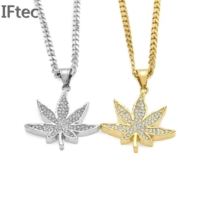 Iftec vogue gold color jamaica esserteauiana hemp pendants iftec vogue gold color jamaica esserteauiana hemp pendants necklaces women men rhinestone hip hop jewelry gifts aloadofball Images