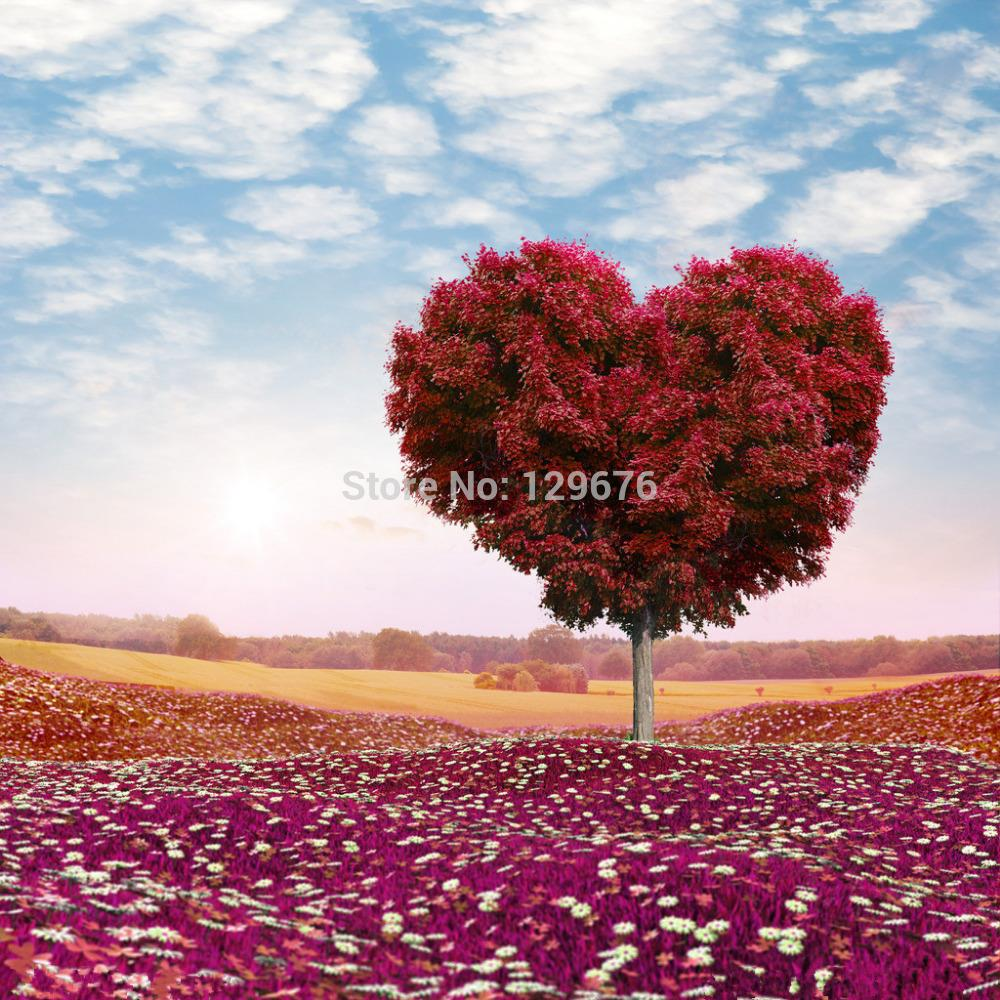 10x10ft Valentine's day theme Photography Backdrops Vinyl Prop Photo Studio Background QRL318 shengyongbao 300cm 200cm vinyl custom photography backdrops brick wall theme photo studio props photography background brw 12