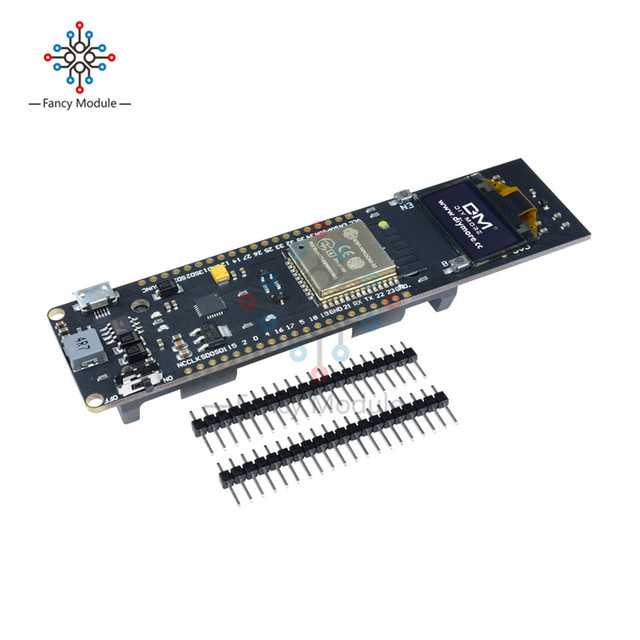US $9 34 21% OFF|For ESP32 0 96'' 0 96 inch OLED Display WiFi Bluetooth  18650 Lithium Battery Shield Development Board CP2102 Module ESP8266-in
