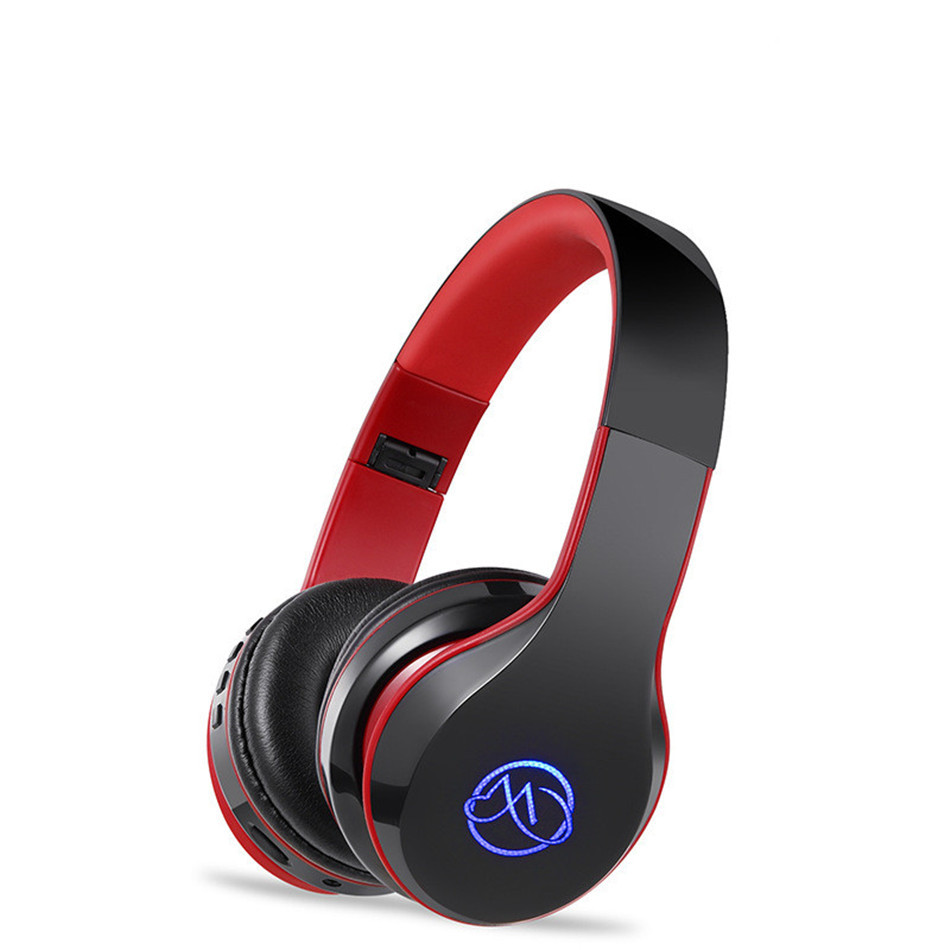 Desxz Noise Cancelling Wireless Bluetooth Headphones Stereo Deep bass Headset with Microphone Active Noise Reduction Headphone