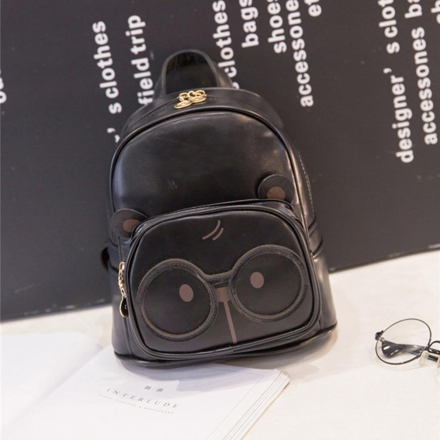 Ocardian 2018 new Fashion female cute owl School Rucksack Backpack Bookbag female and man shoulder high quality bag C0116