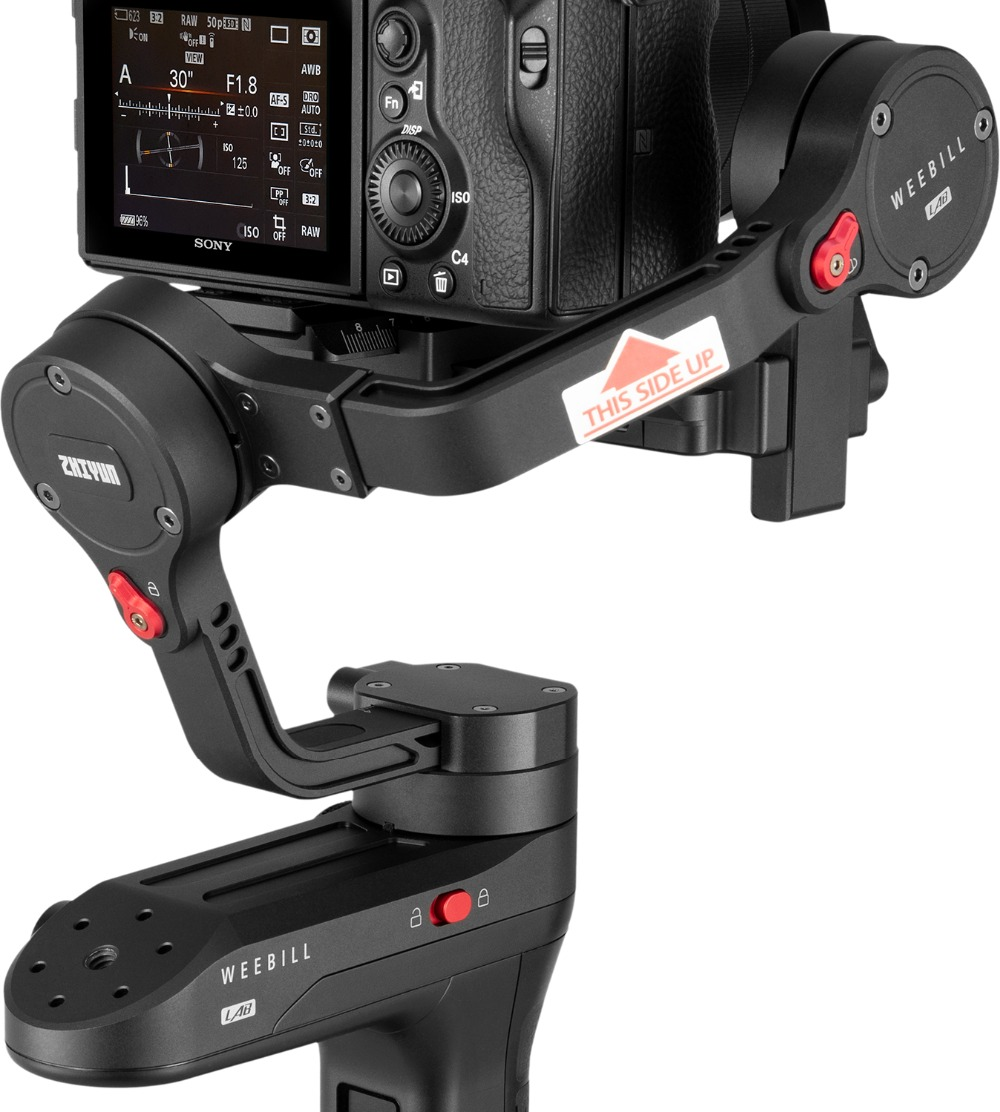 Zhiyun WEEBILL LAB 3-Axis OLED Display Stabilizer For Sony Panasonic GH5s Mirrorless Camera Handheld Gimbal With Focus Control 17