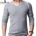 Suéteres de la marca de los nuevos hombres suéter que hace punto del invierno Blusas Masculina moda 2015 otoño ocasional hecho punto Slim Fit hombres Tops ZHY1882