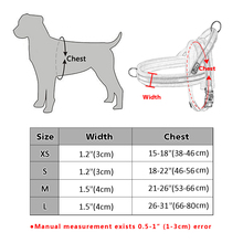 Nylon Large Dog Harness Reflective Pet Vest
