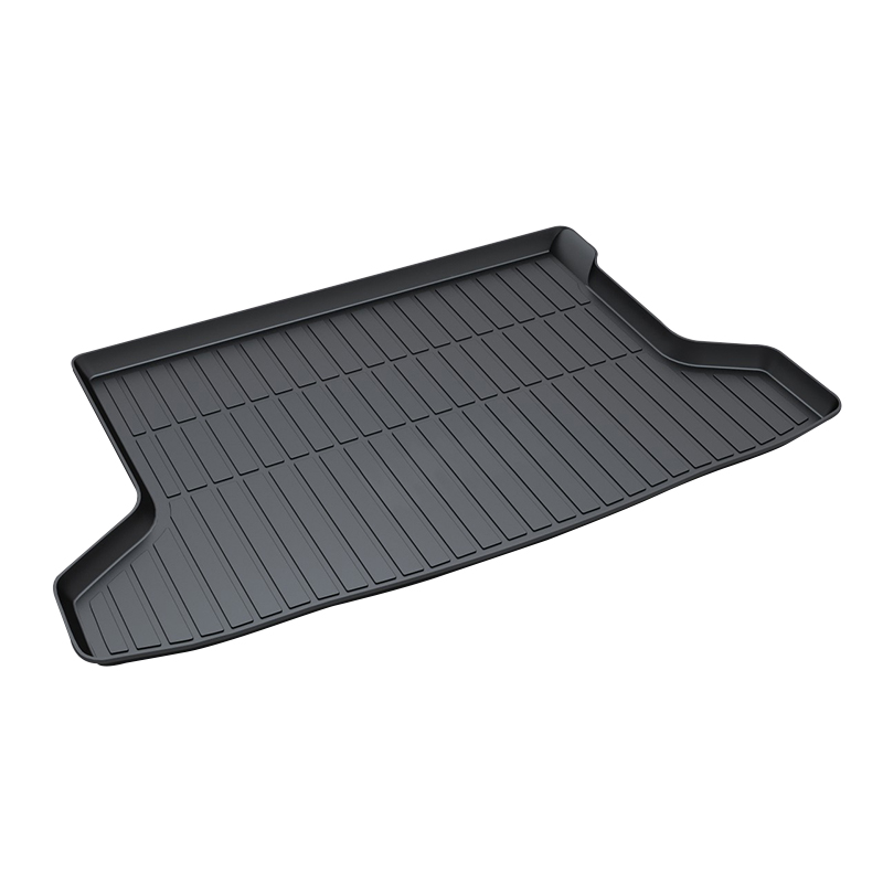 Trunk Tray Mat for Honda XRV,2015-2017,Premium Waterproof Anti-Slip Car in Heavy Duty,Black for honda jazz trunk tray mat premium waterproof anti slip car trunk carpet in heavy duty black